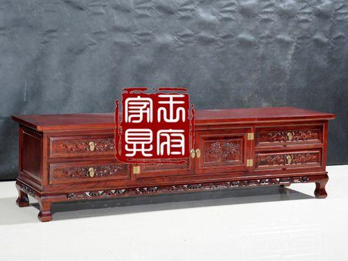 香河古典客厅电视柜厂家1