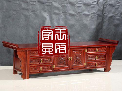 香河古典中式电视柜批发2