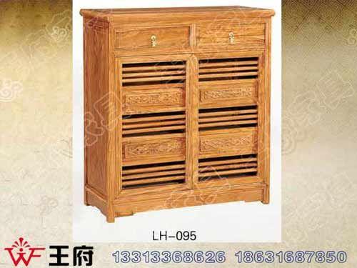 LH-095香河老榆木备餐柜厂家