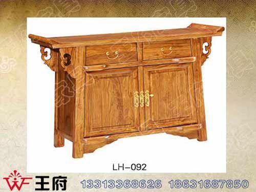LH-092天津仿古备餐柜定做