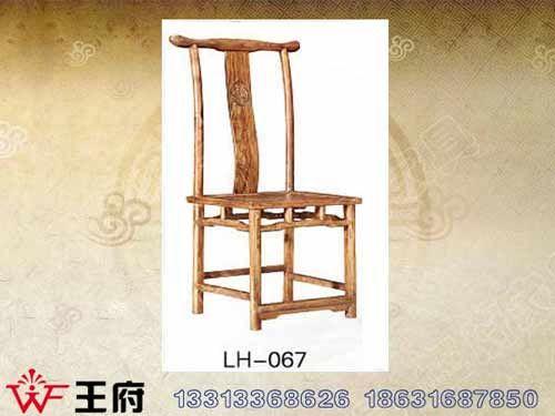 LH-067香河明清老榆木餐厅椅