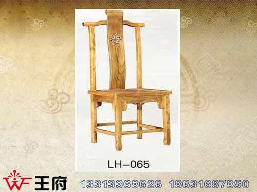 LH-065北京老榆木餐厅桌椅制作
