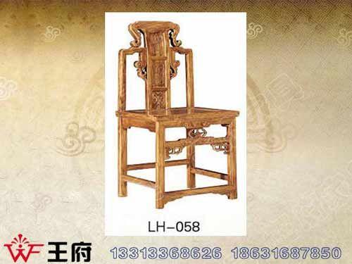 LH-058内蒙仿古餐厅桌椅
