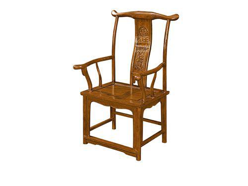 WF餐椅006香河中式老榆木餐厅桌椅