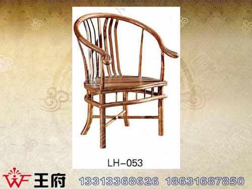 LH-053北京仿古餐厅桌椅