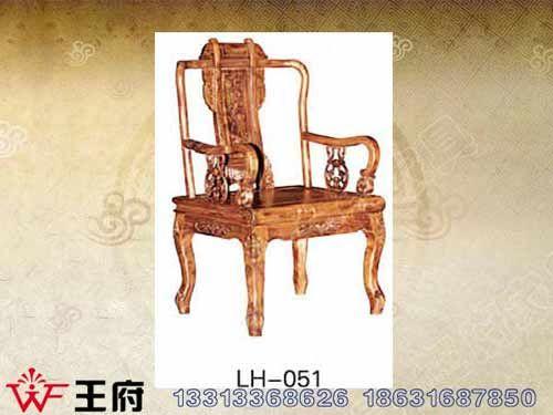 LH-051香河老榆木餐厅桌椅厂家