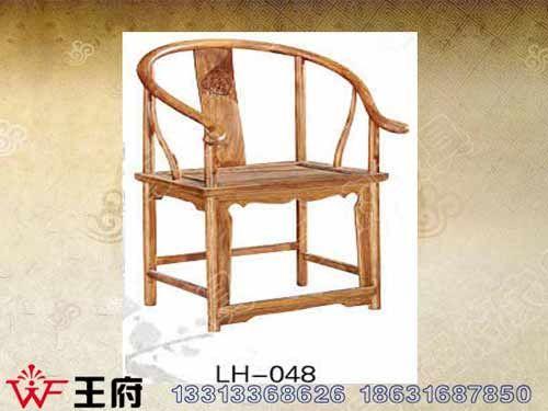 LH-048北京中式餐厅椅厂家