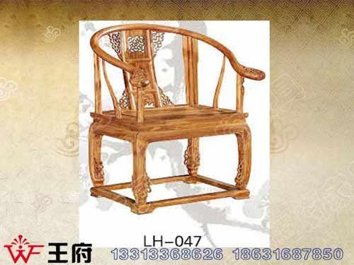 LH-047香河明清餐厅椅价格