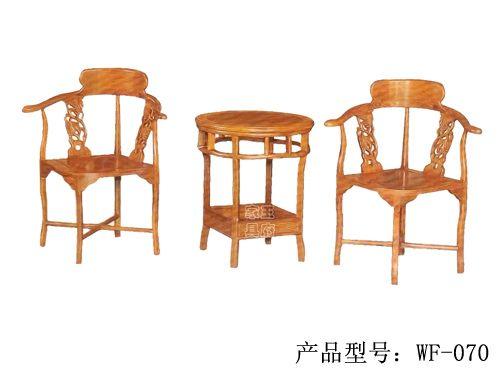 LH-046老榆木餐厅桌椅批发