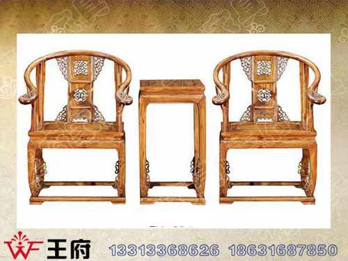 WF休闲椅003山西老榆木餐厅桌椅价格