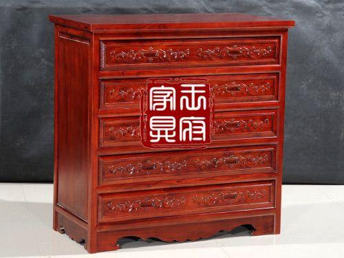 香河中式五屉柜厂家WTG-1