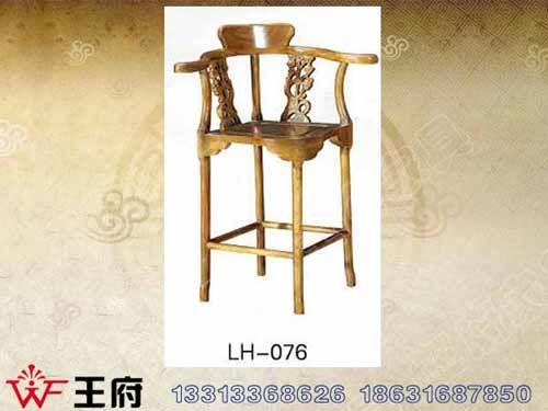 LH-076内蒙老榆木家具定做