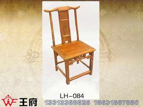 LH-084香河老榆木餐厅座椅价格