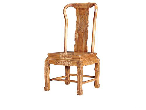 WF餐椅004北京中式老榆木餐厅座椅
