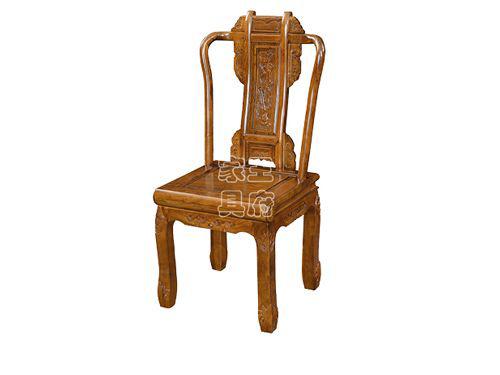 WF餐椅002河北明清老榆木餐桌椅批发