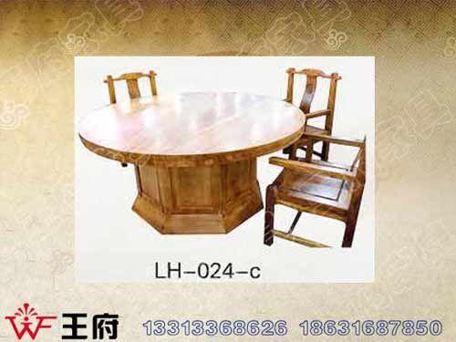 LH-024-c老榆木仿古餐桌椅批发
