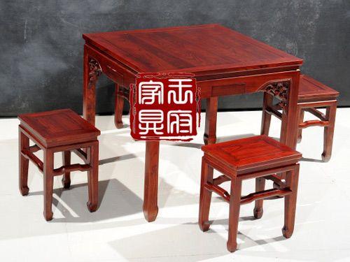 C-003老榆木餐桌椅批发