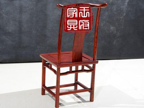 c-006纯北京老榆木餐椅