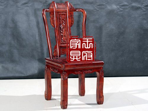 wf餐椅002老榆木餐椅