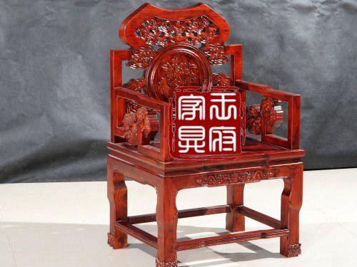 WF休闲椅001老榆木餐椅