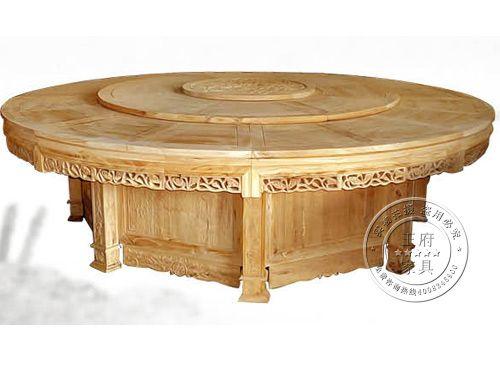 香河老榆木餐桌定做