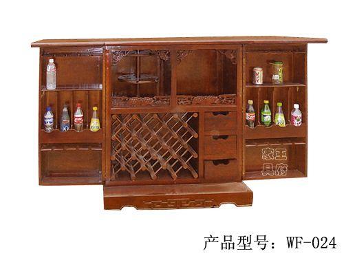 香河中式仿古酒水柜