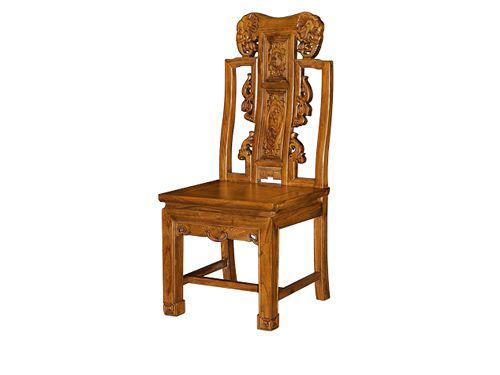 香河老榆木餐椅定做WF餐椅005
