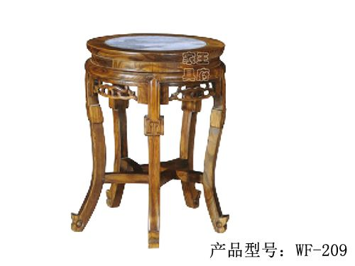 老榆木仿古中式鼓凳