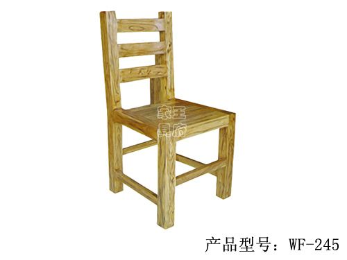 明清老榆木仿古餐椅