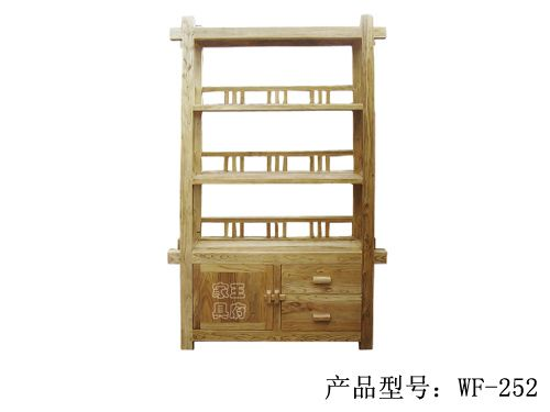 北京仿古榆木书柜厂家