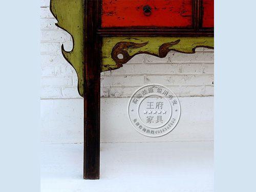 北京彩绘榆木家具