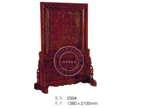 中式老榆木屏风定做