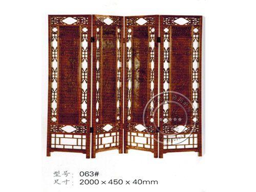 中式老榆木屏风厂家