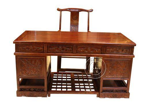 山西老榆木仿古书桌价格