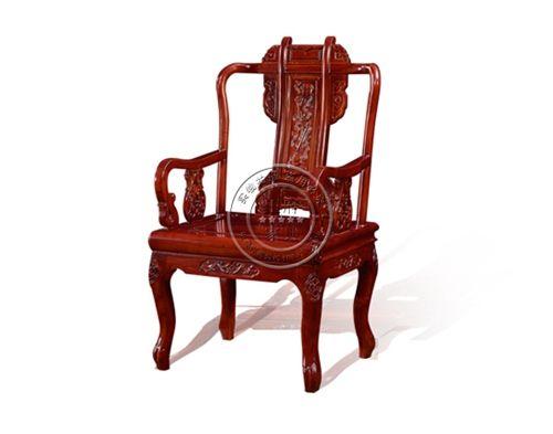 香河实木椅子桌子饭店用WF餐椅001