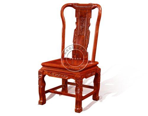 老榆木古典饭店餐桌椅WF餐椅004