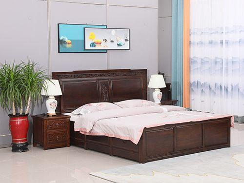 北京老榆木双人床价格