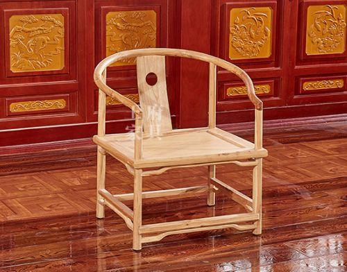 老榆木素圈椅
