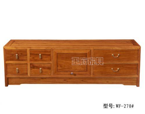 香河老榆木电视柜家具价格