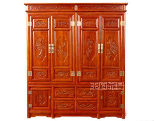 北京榆木家具厂家衣柜价格