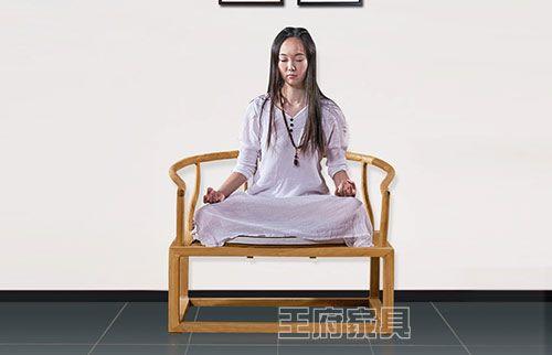 老榆木新中式禅意圈椅
