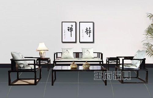 怀旧复古新古典中式沙发
