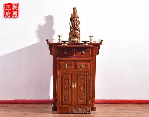 北京实木佛像柜条案