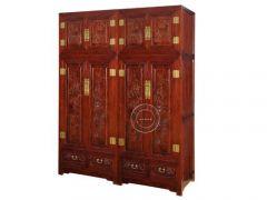 北京仿古卧室衣柜价格YG-19