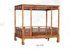 LH-112天津中式卧室床批发