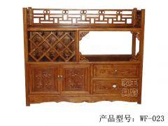 香河老榆木备餐柜