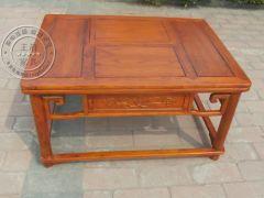 茶楼专用老榆木长方茶台