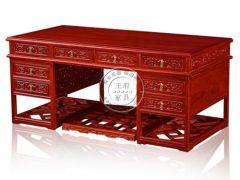 北京实木老榆木毛笔桌写字桌