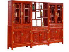 香河中式纯实木多宝阁