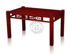 香河老榆木餐桌椅实木